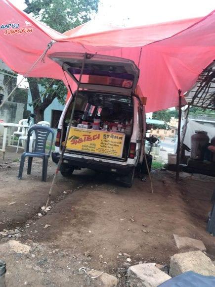 Mahadev food wagon, Bhavnath