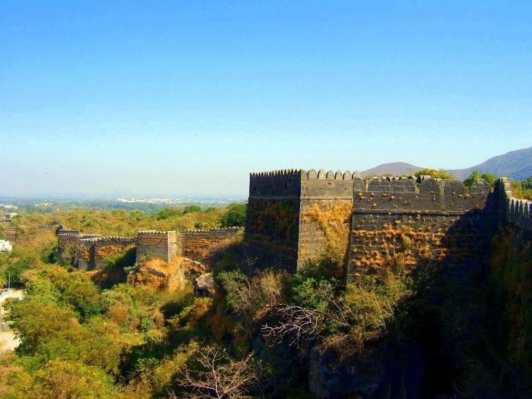 The Rock Cuts of Junagadh-Uparkot