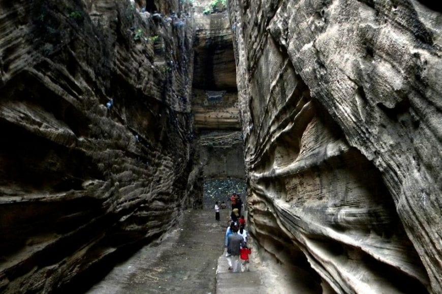 The Rock Cuts of Junagadh